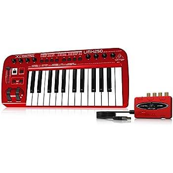 behringer umx25 u control 25 key usb midi controller keyboard musical instruments. Black Bedroom Furniture Sets. Home Design Ideas