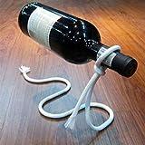 Bottle Holder - Magical Lasso Wine Bottle Holder Rope Rack White - Margarita Attachment Olive Pantry Top Handle No Bar Neck Duty