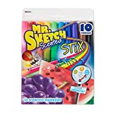 Toys : Mr. Sketch Scented Stix Markers, Fine Tip, Assorted Colors, 10-Count