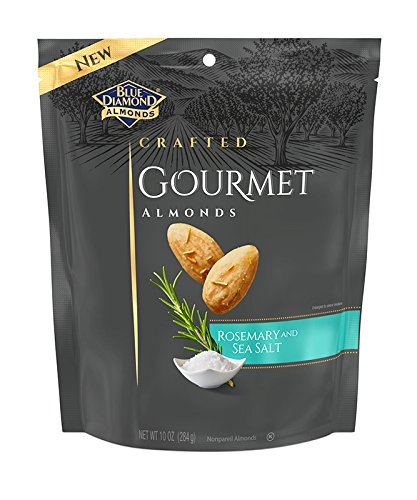 - Blue Diamond Almonds, Gourmet Rosemary and Sea Salt, 10 Ounce
