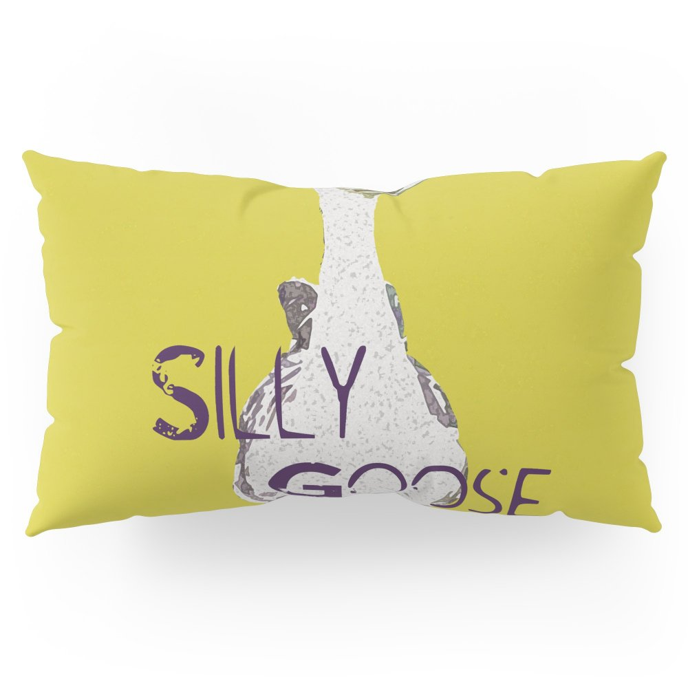 Society6 ''Silly Goose'' ~ African Goose, Geese Pop Art Photography! Gotta Love The Honkers! Pillow Sham King (20'' x 36'') Set of 2