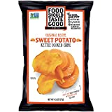 Food Should Taste Good, Sweet Potato Chips, Kettle Chips, 4.5 oz