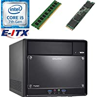 Shuttle SH110R4 Intel Core i5-7400 (Kaby Lake) XPC Cube System , 4GB DDR4, 120GB M.2 SSD, DVD RW, WiFi, Bluetooth, Pre-Assembled and Tested by E-ITX
