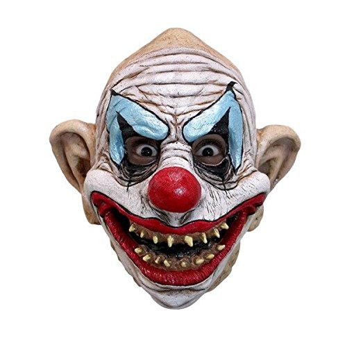 Kinky the Clown Latex Mask Adult Evil Scary Killer Klown Mask Halloween Horror by Unknown