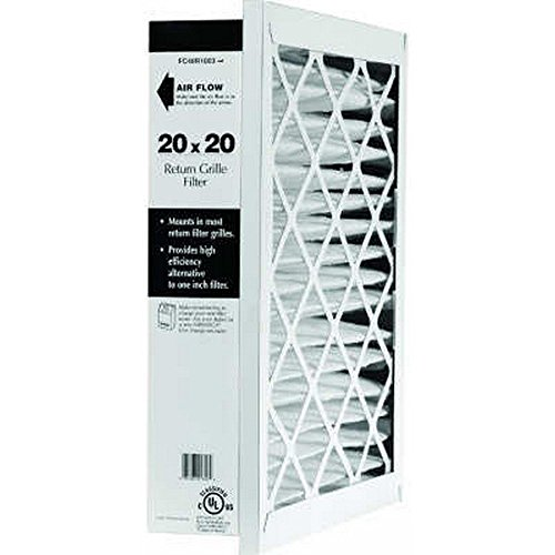 return air filter grille 25 x 14 - 9