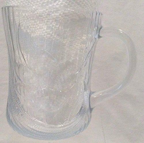 Coffee Canterbury - Arcoroc CANTERBURY Cup, Canterbury Floral Design by ARCOROC, Floral Glass Coffee Cup