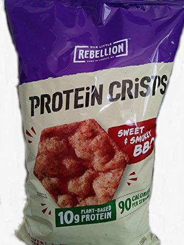 Best rebellion protein crisps bbq 13 oz list