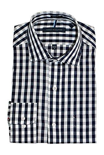 tommy-hilfiger-mens-non-iron-regular-fit-spread-collar-dress-shirt-15-155-neck-32-33-sleeve-medium-b