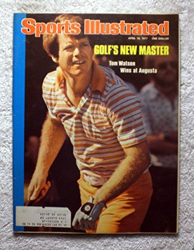 Tom Watson - 1977 Masters Champion - Sports Illustrated - April 18, 1977 - Golf - SI-2