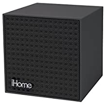 iHome Bluetooth Rechargeable Mini Speaker Cube-Gray