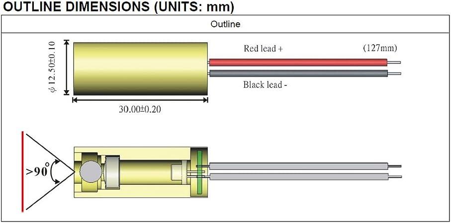 l/áser para uso dom/éstico M/ódulo l/áser de cuarzo VLM-520-27 LPT generador directo de l/ínea l/áser verde