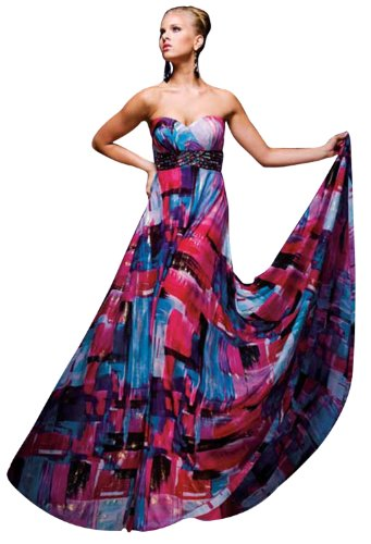 Tony Bowls 110721 Prom Dress, Print, 6