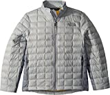 The North Face Kids Boy's Thermoball Full Zip Jacket (Little Kids/Big Kids High-Rise Grey/Mid Grey/Canary Yellow X-Large