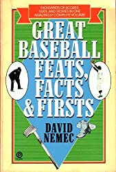 Great Baseball Feats, Facts and Firsts (Plume)