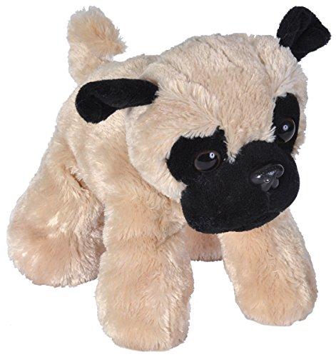 Plush Stuffed Pug - Wild Republic Pug Plush, Stuffed Animal, Plush Toy, Gifts for Kids, Hug'Ems 7