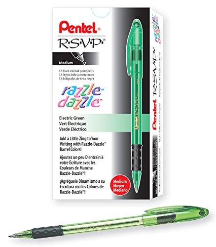 Pentel R S V P Razzle Dazzle Ballpoint BK91RDD