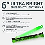 "6"" Industrial Grade Glow Sticks, Ultra Bright"