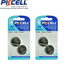 4 Pack 2032 CR2032 3V Lithium Button Batteries