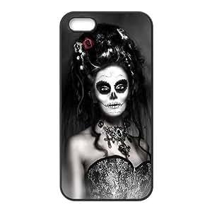 VNCASE Sugar Skull Phone Case For iPhone 5,5S [Pattern-1]
