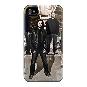 Shock Absorbent Hard Cell-phone Case For Iphone 4/4s With Allow Personal Design Beautiful Loudblast Band Series CristinaKlengenberg