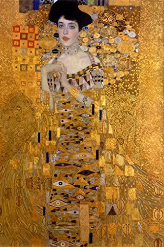 (Gustav Klimt The Woman In Gold Art Print Poster 12x18)
