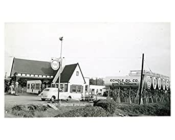 Amazon Com 1941 Pure Oil Gas Station Photo Poster