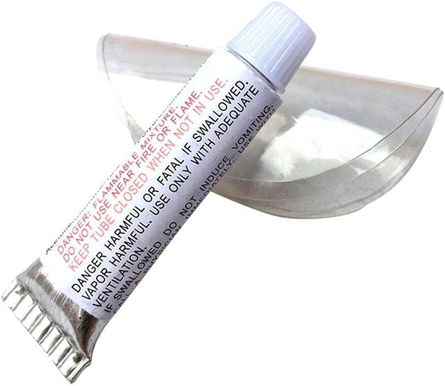 Guajave Barco Inflable Kit de Reparación PVC Material Adhesivo Parches para Cama de Agua Aire Colchón Natación Anillo Juguete