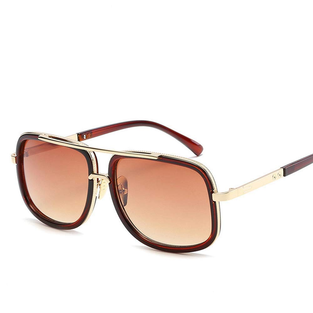 Sunglasses for Women Myoumobi/_ Trendy Oversized Square Aviator Polarized Sunglasses Style with Big Unbreakable Frame