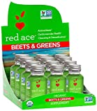red ace organic beet juice - Red Ace Organic Beets & Greens Shots, 12 Count