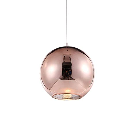 Colgante de luz Lámpara de techo Redondo Moderno Hierro ...