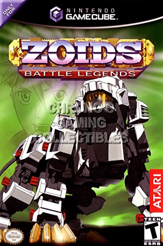 "CGC Huge Poster - Zoids Battle Legends BOX ART - Nintendo GameCube GC - NGC068 (16"" X 24"")"