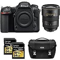 Nikon D500 CMOS DX DSLR Camera w/ 4K Video (Body) + 17-55mm F/2.8G ED-IFAF-S DX Zoom Lens + 2x Lexar 64GB Professional 1000x SDHC/SDXC Class 10 Memory Card + Deluxe DSLR Camera Bag Advantages Review Image