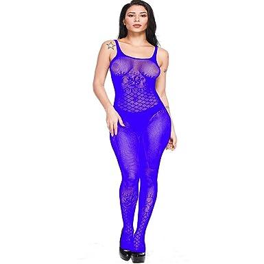 27414693f7 Women s s Mesh Lingerie Hollow Fishnet Babydoll Underwear Nightwear ...