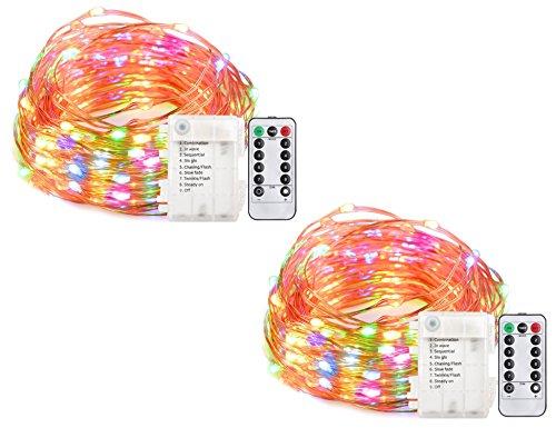 Creatrek LED String Lights Battery Operated