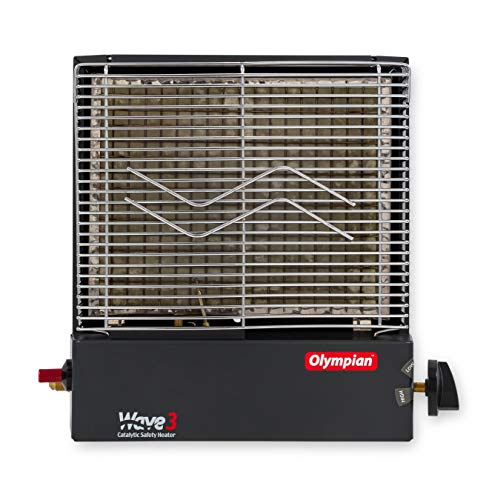 (Camco 57331 Olympian Wave-3 3000 BTU LP Gas Catalytic Heater)