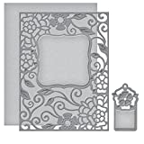 Spellbinders S4-502 Card Creator Tudor Rose Card Front Etched/Wafer Thin Dies