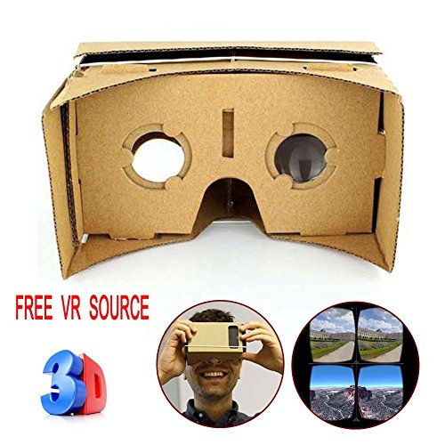 Sun YOBA ULTRA CLEAR DIY Cardboard Valencia Quality 3D VR Virtual Reality Glasses
