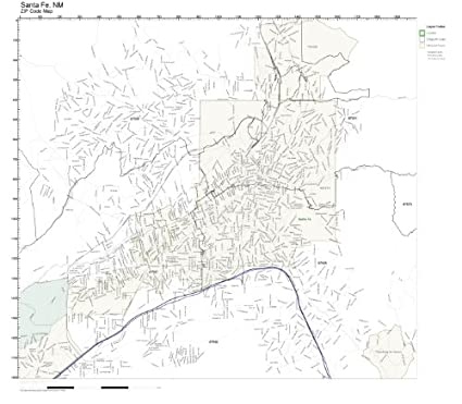 Amazon.com: Working Maps Zip Code Wall Map of Santa Fe, NM ... on paguate nm map, great sand dunes nm map, rio grande nm map, university of nm map, town of taos nm map, los alamos nm map, austin tx map, la ventana nm map, de baca county nm map, pueblo bonito nm map, north valley nm map, los ojos nm map, colorado nm map, san jose nm map, omaha ne map, bandelier nm map, san juan nm map, coyote canyon nm map, new mexico map, santo domingo pueblo nm map,