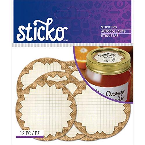 Jar Stickers: Amazon.com