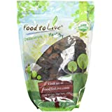 Food to Live Certified Organic Dried Apricots (Non-GMO, Kosher, Unsulfured, Bulk) (2 Pounds)