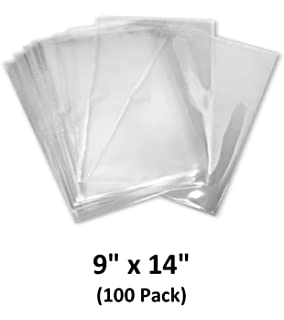 Amazon.com: 7x10 inch Odorless, Clear, 100 Guage, PVC Heat ...