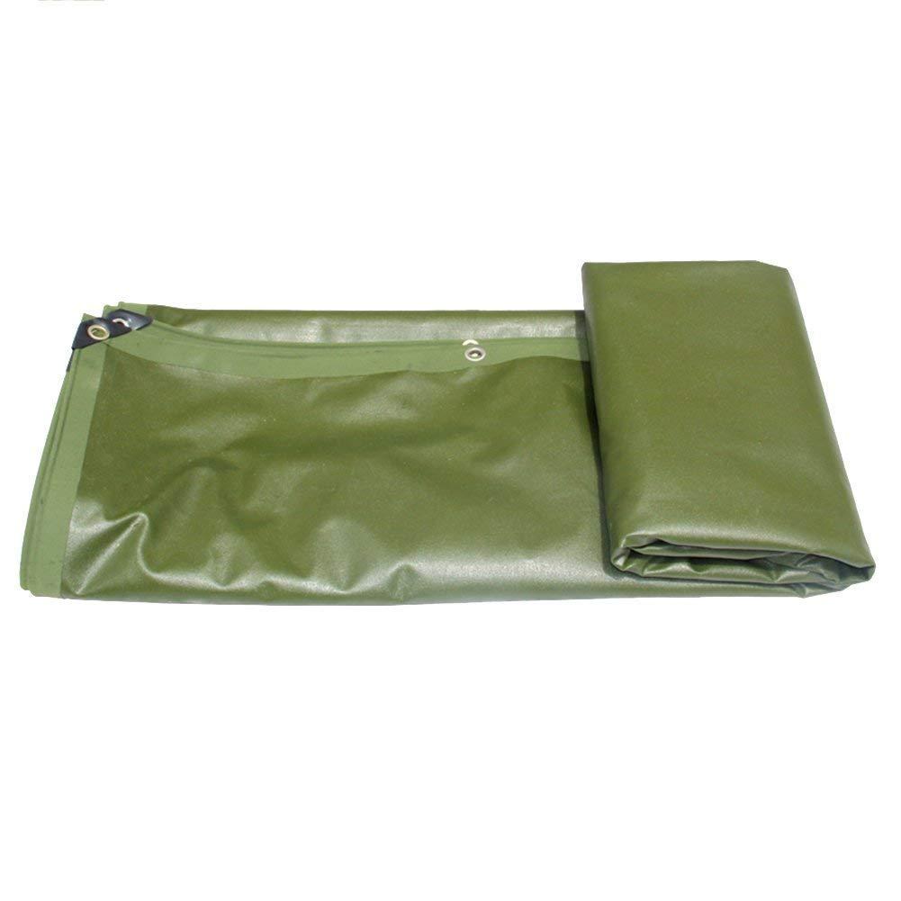 防水、防塵厚い高密度織りポリエチレン、厚さ0.76 Mm、緑色(3×4 M) (色 : -, サイズ さいず : 4m × 4m) 4m × 4m  B07K1DG882