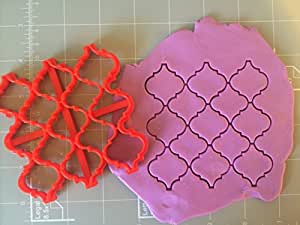 Moroccan Pattern Embosser , Stamp, Cookie Cutter