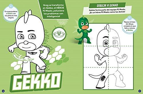 Gatuno, Buhíta, Gekko, ¡en marcha! (PJ Masks. Actividades ...