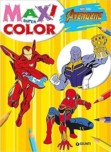 Amazon It Avengers Infinity War Maxi Supercolor Libri