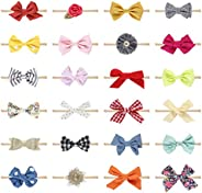 10 Pcs Baby Girl Headbands and Bows, Newborn Infant Toddler Hair Accessories by KECUCO