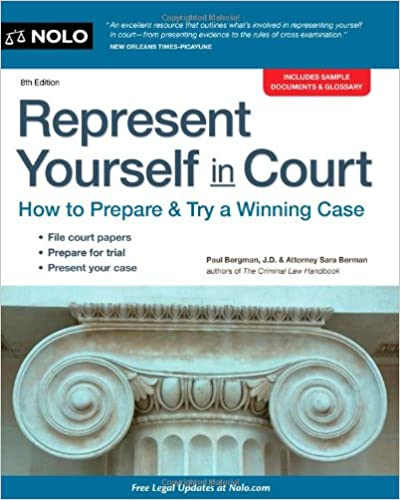 Represent yourself in court how to prepare try a winning case represent yourself in court how to prepare try a winning case 8th edition solutioingenieria Choice Image