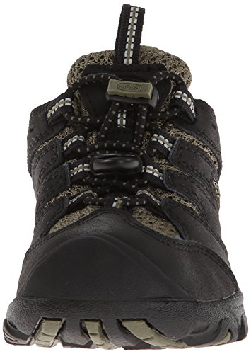 "Keen Unisex niños ""Koven WP Low Rise Senderismo zapatos Black (Black/Burnt Olive)"