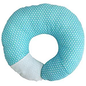 Babymoon Pod - for Flat Head Syndrome & Neck Support (Aqua Dot)
