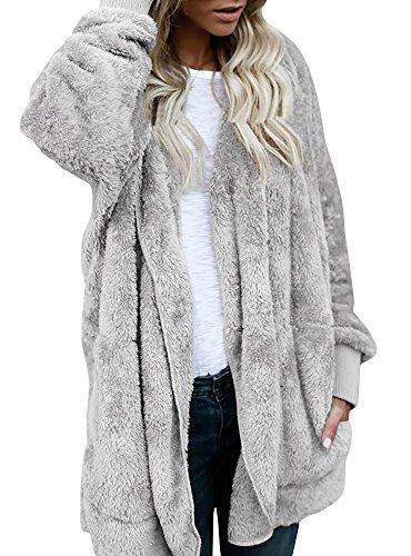 Hooded Fleece Coat - 3